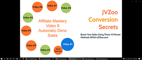 Affiliate Mastery Course - Video 8