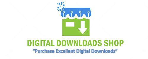 Digital Downloads Shop